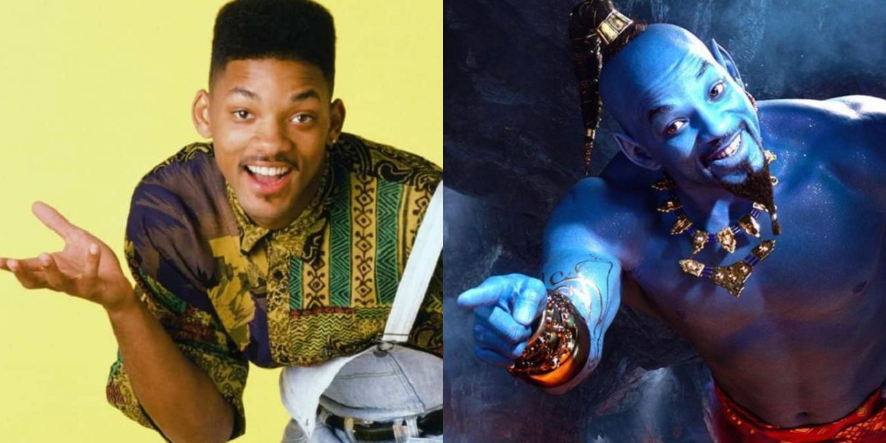 Aladdin: Will Smith, da superfico di Bel-Air a brillante Genio